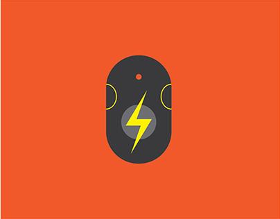 Flash Mouse Icon