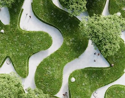 Where The River Runs / Garden Expo 2015