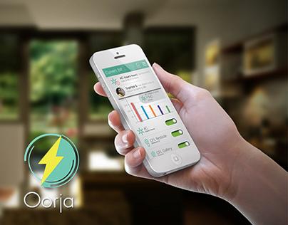 Oorja - Home Automation: Web & Mobile App Design