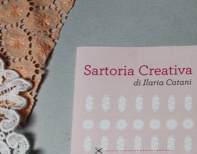 Brochure & Business card for Ilaria Catani
