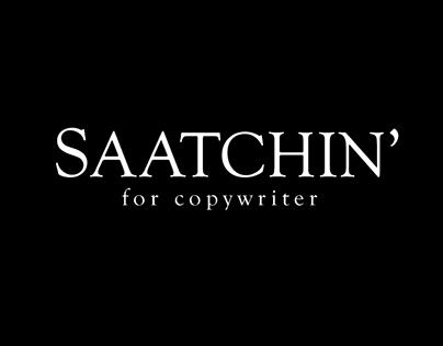 Saatchi & Saatchi Recruitment Ad
