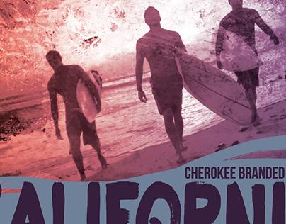 Apparel graphics for Cherokee Global Brands