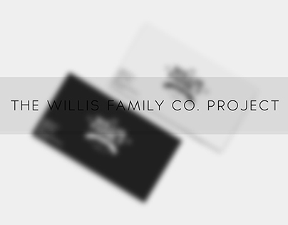 'The Willis Family .Co' Branding