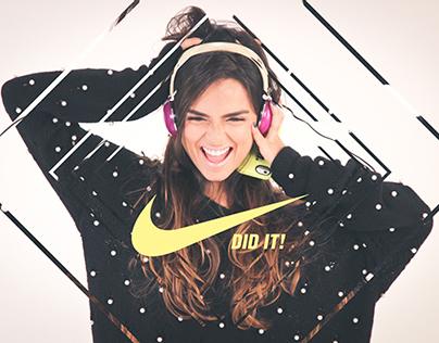 Nike profiling   Editorial design