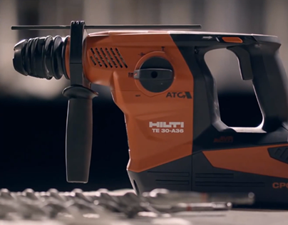 Hilti. World's first cordless combihammer. TE 30-A36.