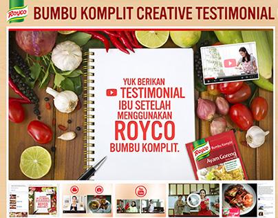Royco Bumbu Komplit Creative Testimonial Competition
