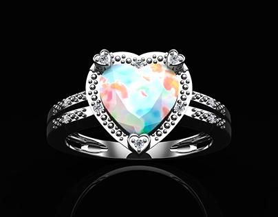 3D Artist Work for Dunkin's Diamonds Jewelry Company