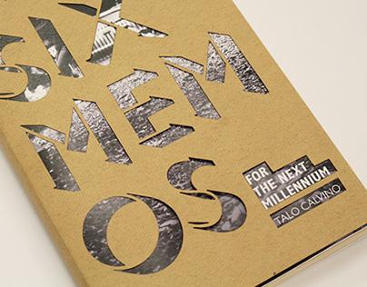 Six Memos for The Next Millennium   Book cover