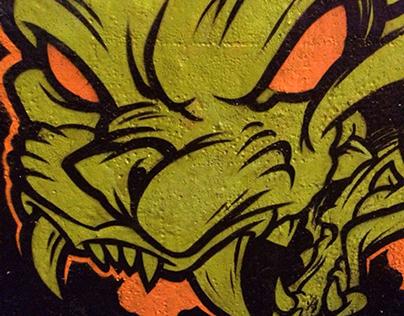 Graffiti walls ( 2014 )