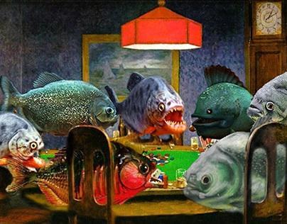 Something Fishy: Perron House 2013-2014