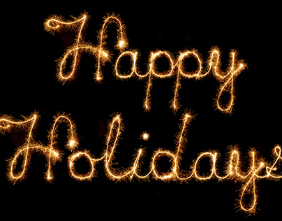 Holiday Card - Light Painting