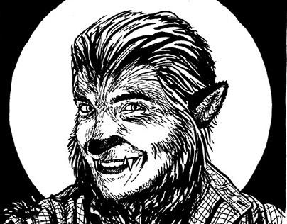Monster My Selfie: Monster Portraits Month 2014
