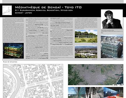 Médiathèque de Sendaï de Toyo Ito