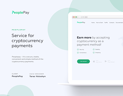 Peoplepay - cryptocurrency service