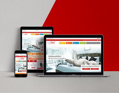 mobiheat® website relaunch