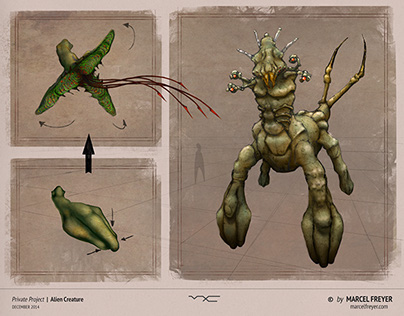 Alien Creature Concepts