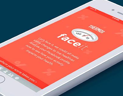 Thermos FaceIt App Concept