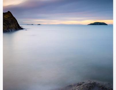 North Berwick at dusk 2