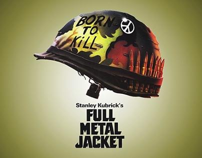 """Remake de los títulos del film """"Full Metal Jacket"""""""