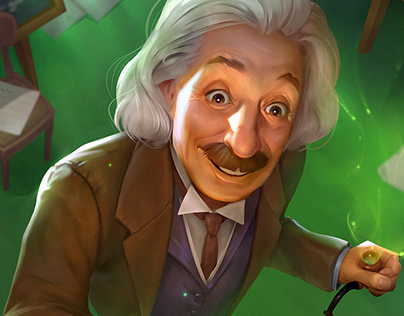 Albert Einstein for STEM:Epic Heroes