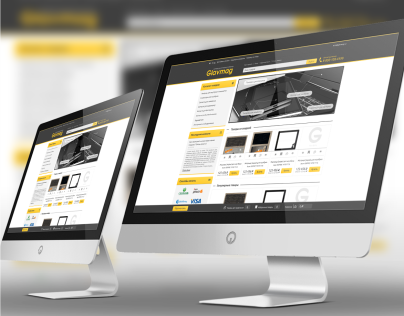 Web Design & UI for e-store glavmag.su