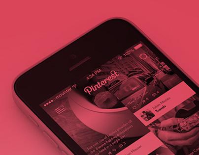 Pinterest - App concept