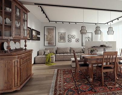 Neo-Classic apartment design