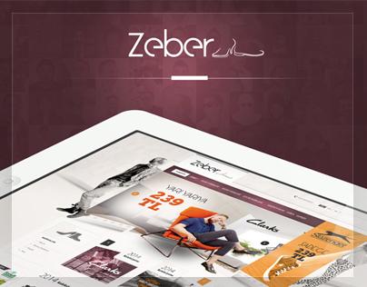 Zeber-Web interface design