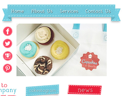 Cupcakes by Sonja Homepage