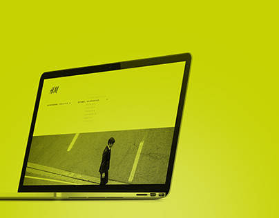 H&M - Web design concept
