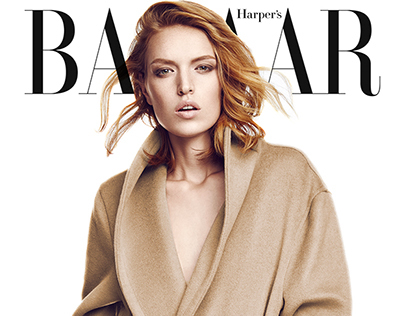 Harper's Bazaar Turkey October 2014