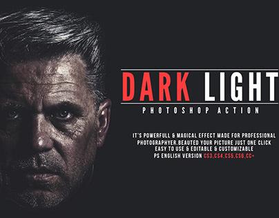 Dark Light Photoshop Action