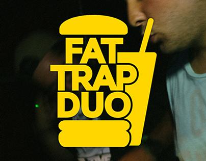 Fat Trap Duo logo & flyers