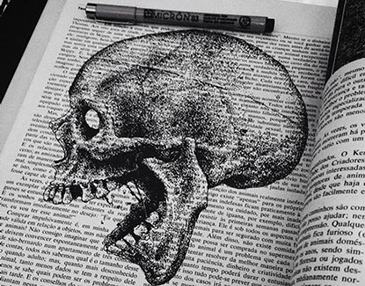 Skull on the Books