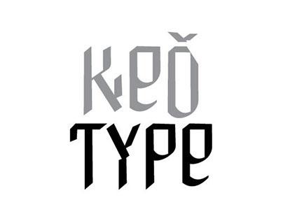 KEĎ title font
