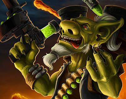Nitrothomp Goblin (hearthstone contest)