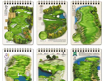 Golf Yardage Books