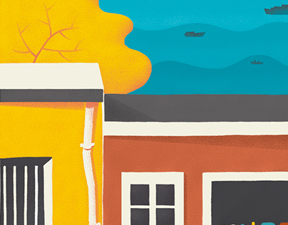 Una Revolución en mi Barrio / Ilustración