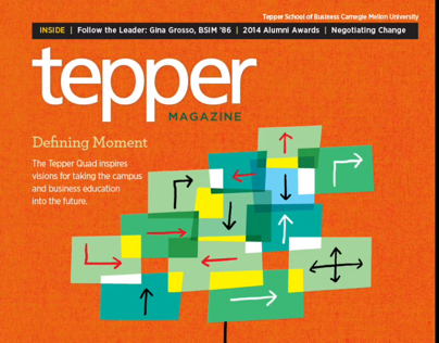 Tepper Magazine Winter 2014 for iPad and Browser