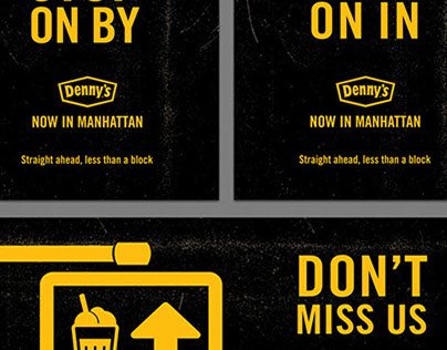 Denny's – Manhattan Directional Signage