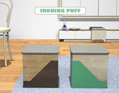 Ironing puff
