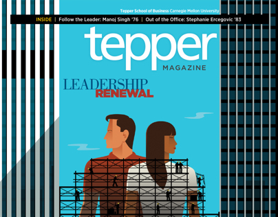 Tepper Magazine Spring 2014 – iPad and Browser