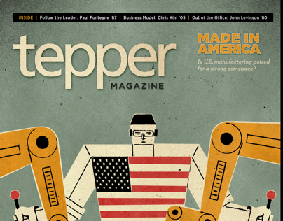 Tepper Magazine Winter 2013 for iPad and Browser