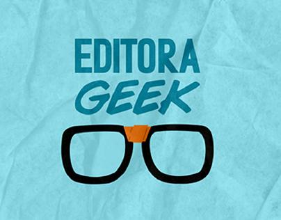 Identidade Visual Editora Geek