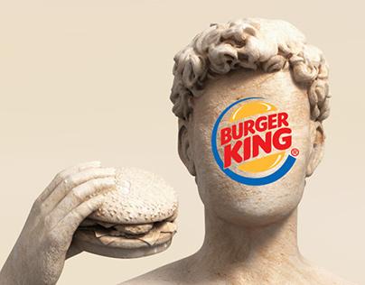 Burger King Bust