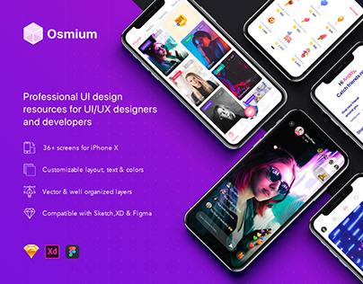 Osmium UI Kit