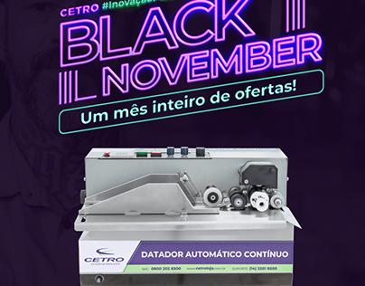Black November 2020 - CETRO MAQUINAS
