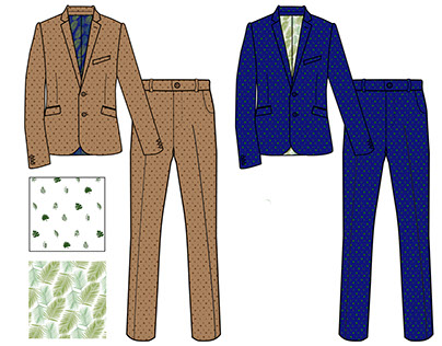 Tropical Chic- Technical Drawing