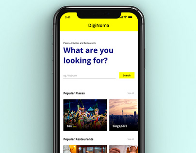 DigitalNomad App