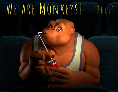 The pilot of the animated series We are Monkeys!